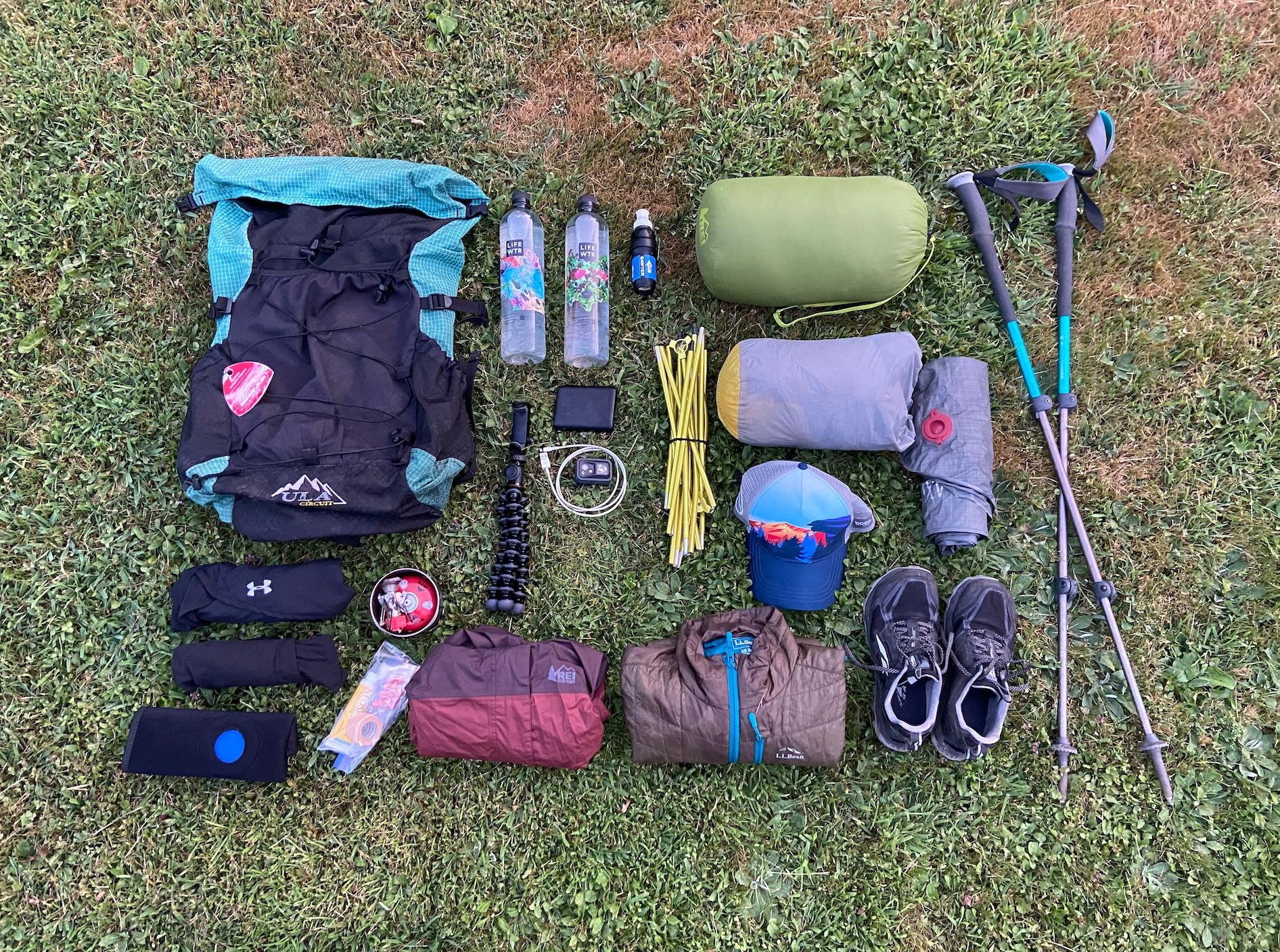Just Your Typical Appalachian Trail Gear List - The Trek