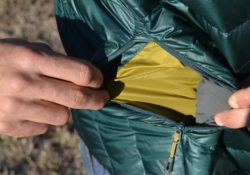 Outdoor Research Mens Helium Down Jacket Review - inside pocket PC Tucker Ballister