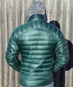 Outdoor Research Mens Helium Down Jacket Review - back PC Tucker Ballister