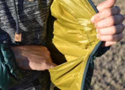 Outdoor Research Mens Helium Down Jacket Review - stash pocket PC Tucker Ballister