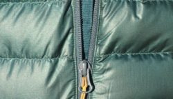 Outdoor Research Mens Helium Down Jacket Review - zipper webbing PC Tucker Ballister