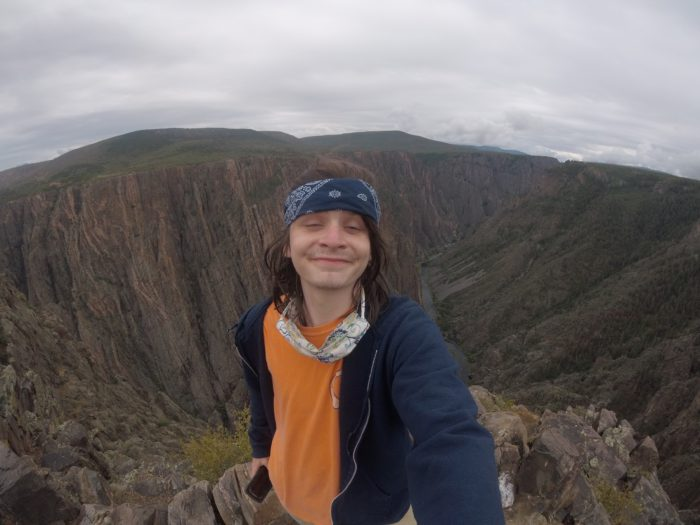 Selfie at the Black Canyon of the Gunnison