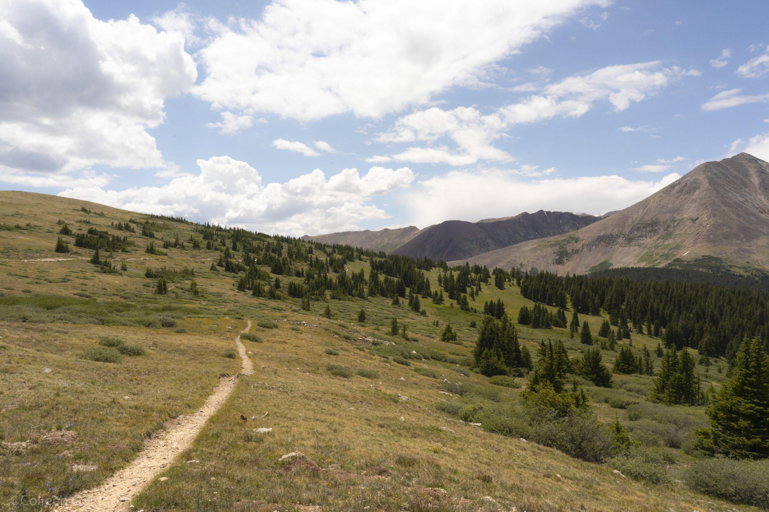 high elevation hiking
