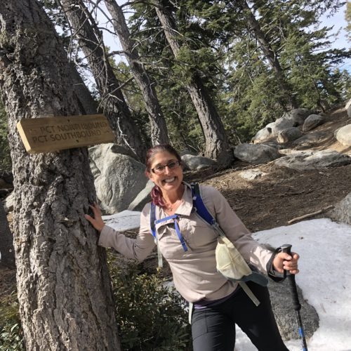 Janine on the PCT