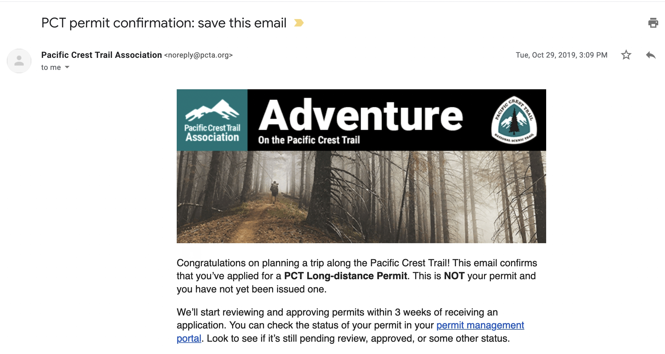 pct long-distance permit